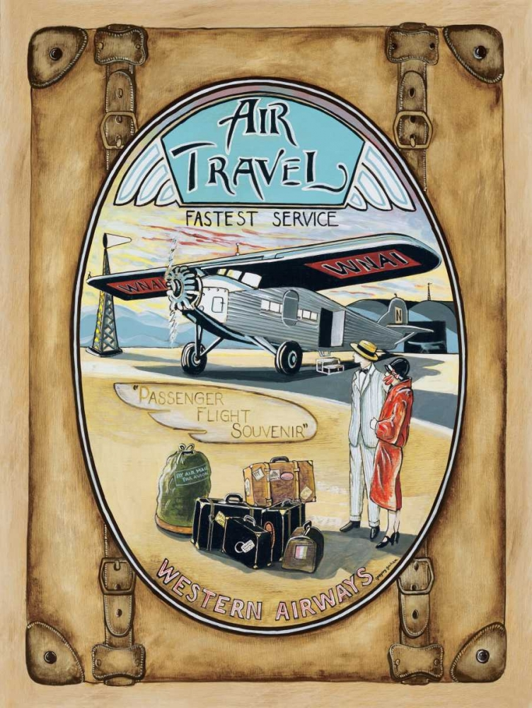 Wall art: Flight Souvenir, by Gorham, Gregory