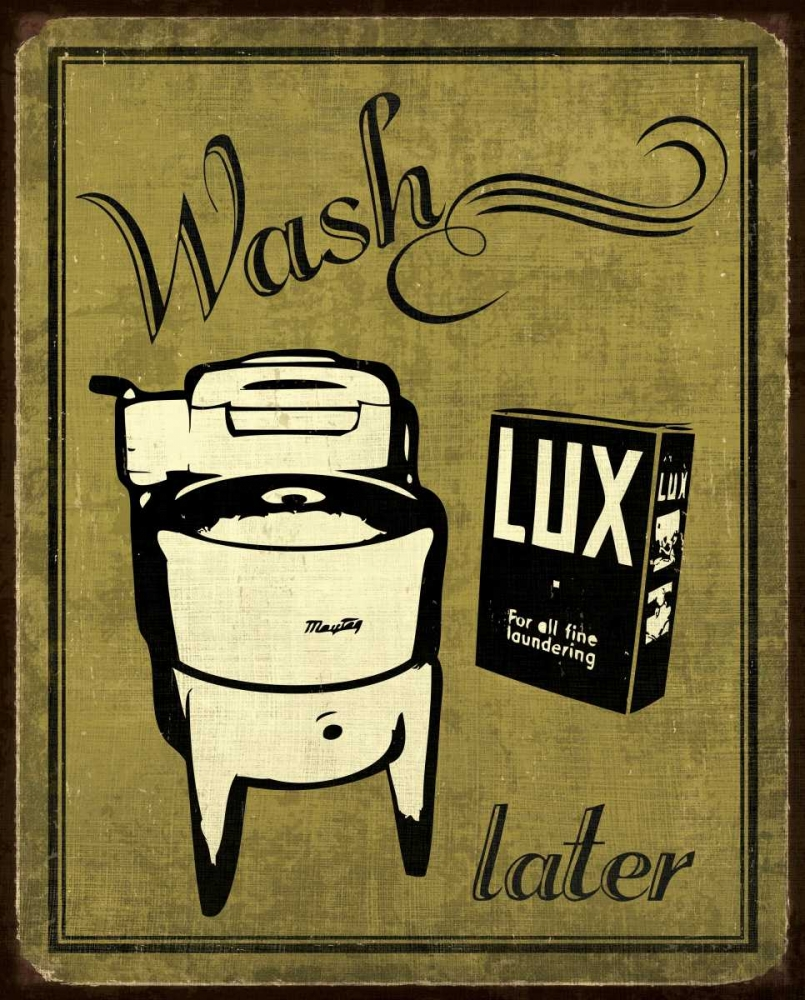 Wall art: Wash, by Harbick, N