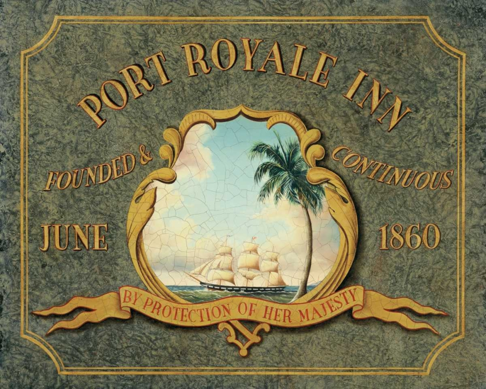 Wall art: Port Royale Inn, by Jones, Catherine