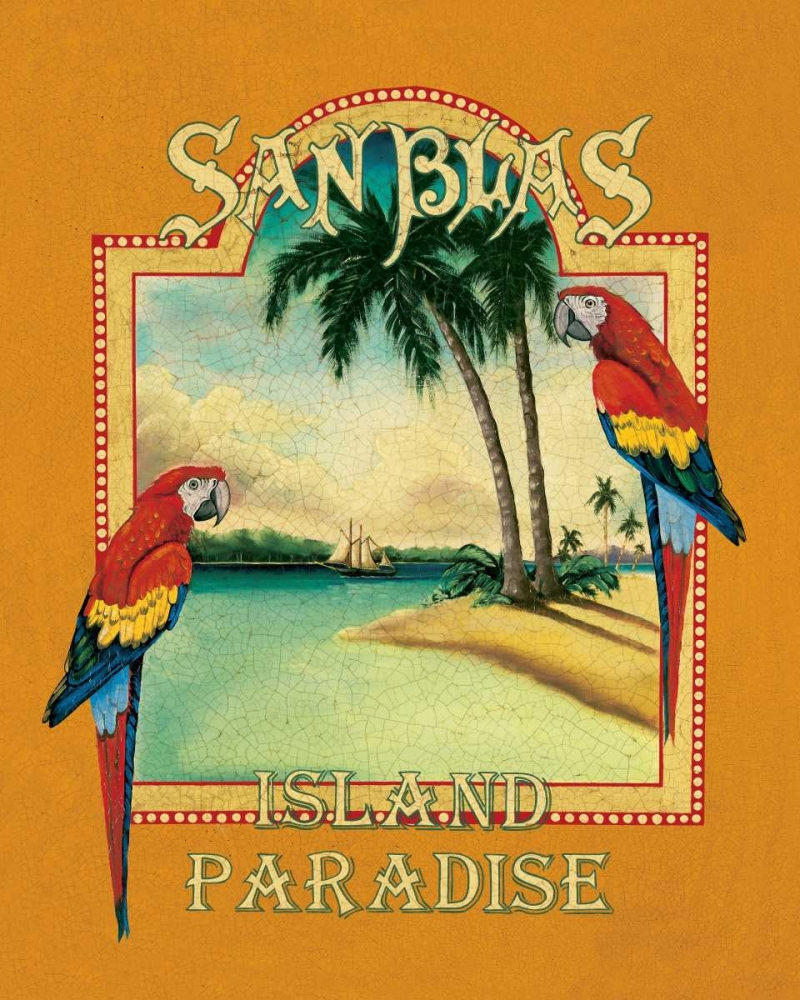 Wall art: San Blas, by Jones, Catherine