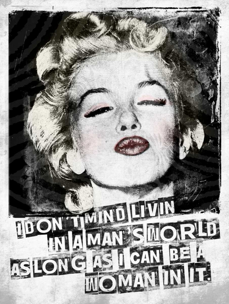 Wall art: Monroe, by Grey, Jace