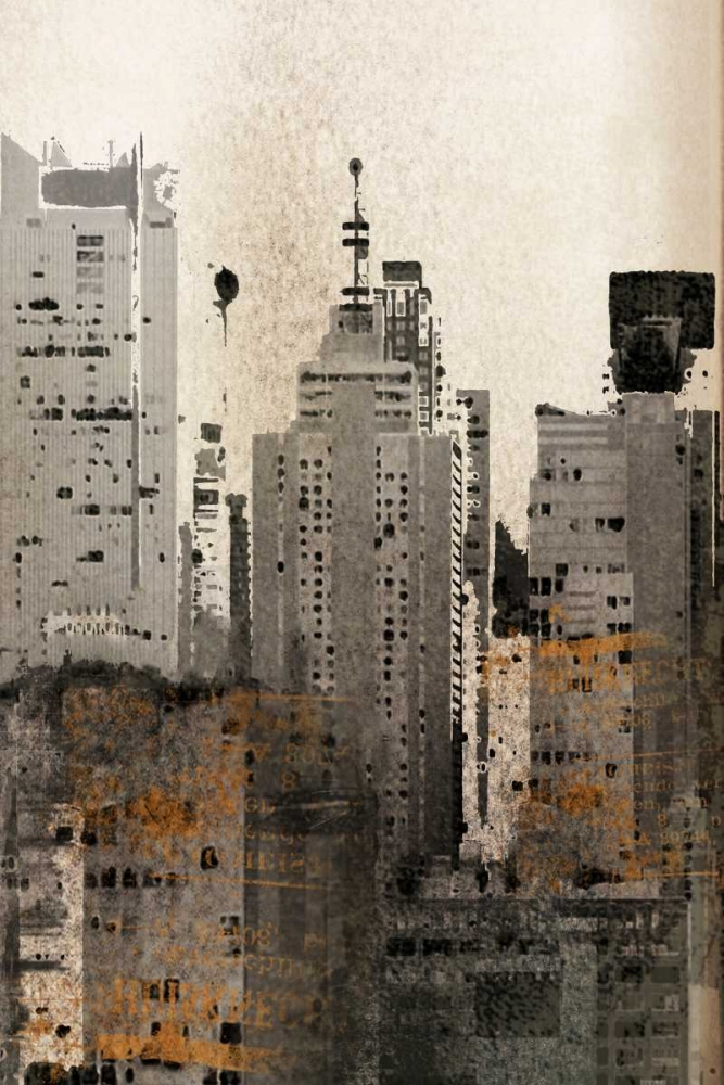 Wall art: New York Invite, by Orlov, Irena