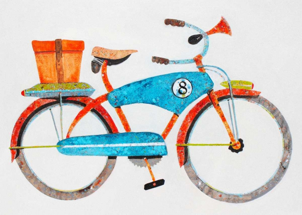 Wall art: Bike No. 8, by Grant, Anthony