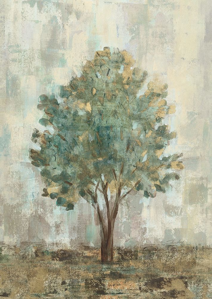 Art Print: Verdi Trees II