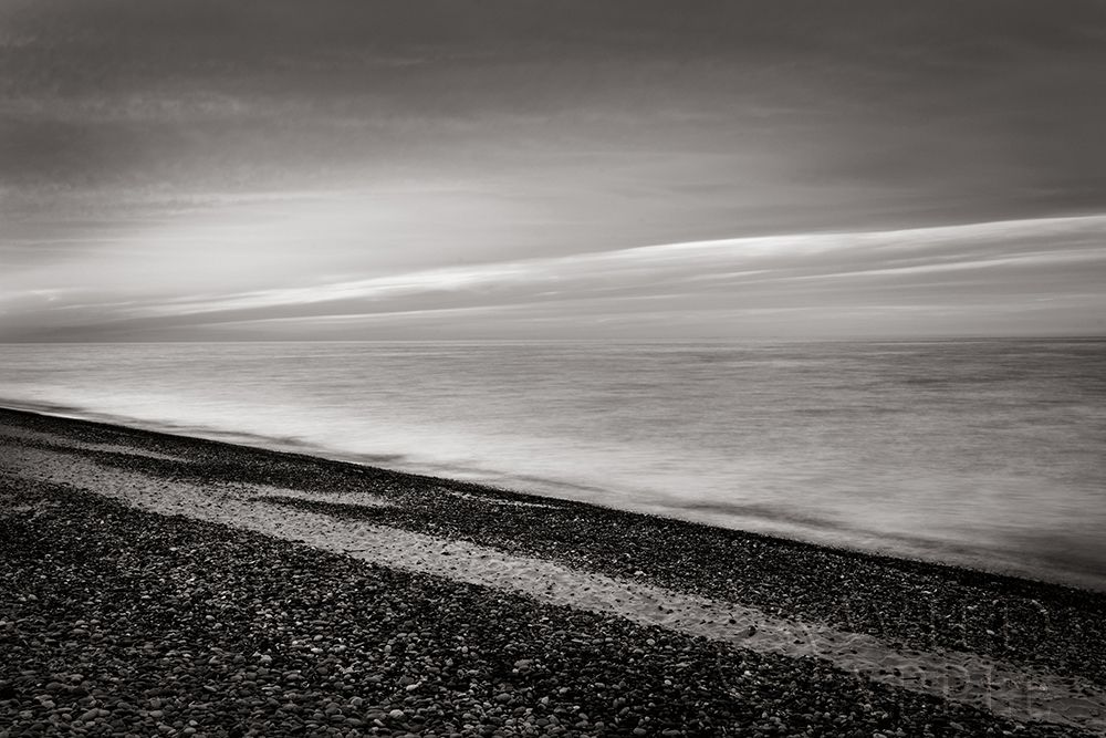 Wall art: Lake Superior Beach III BW, by Majchrowicz, Alan