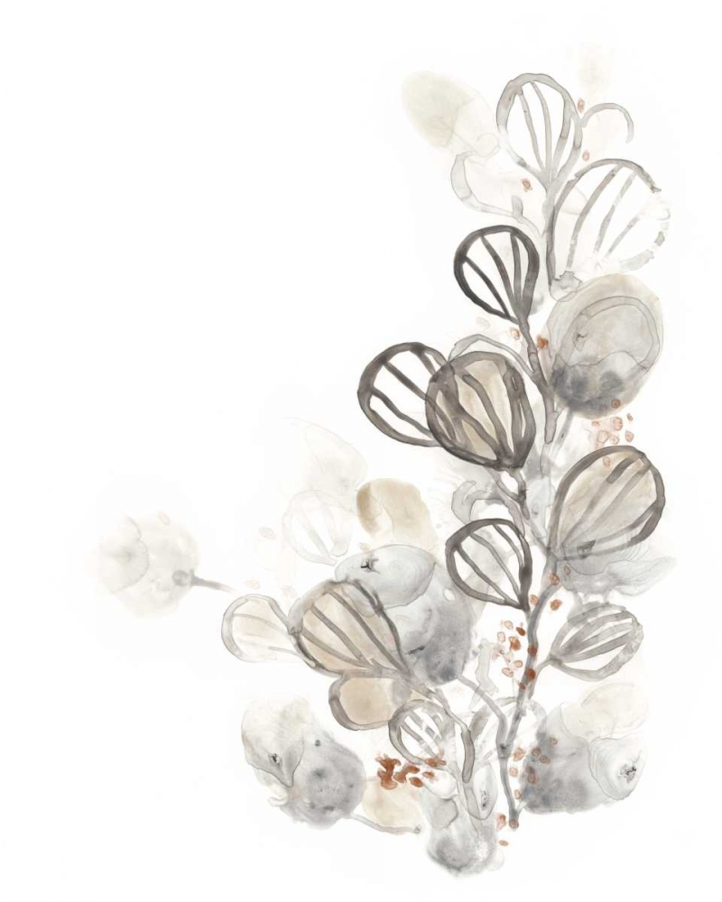 Wall art: Neutral Botany I, by Vess, June Erica