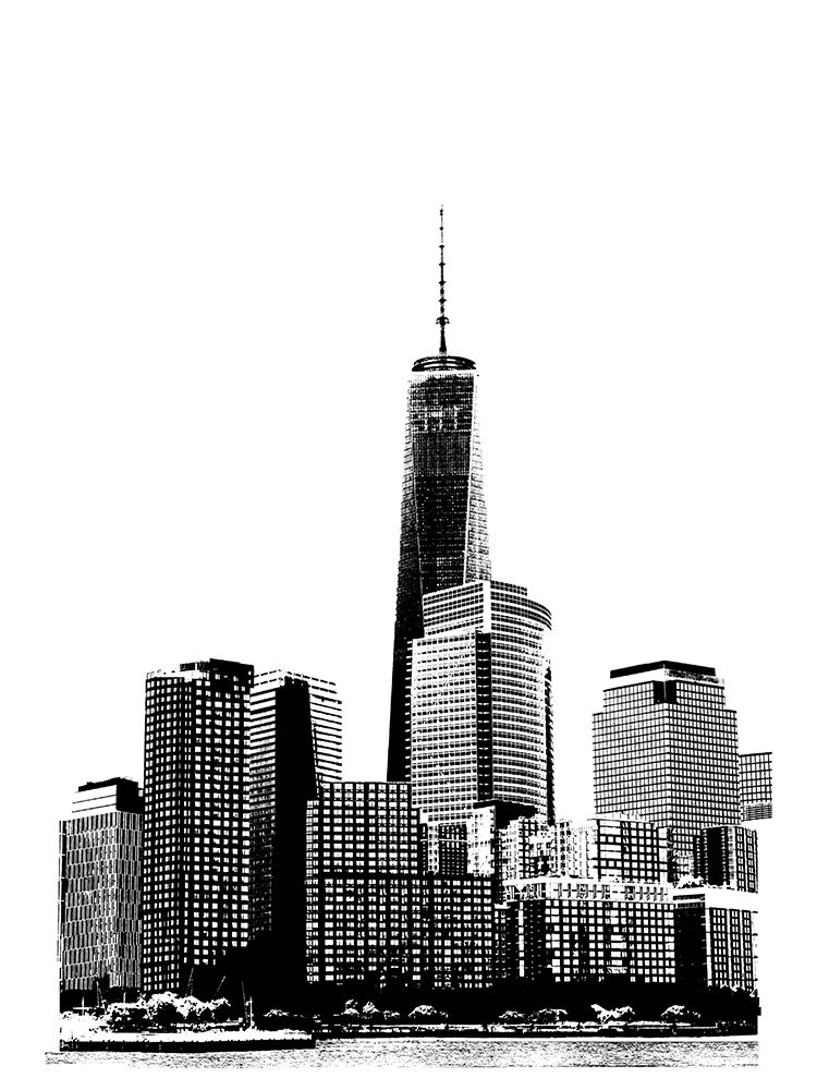 Wall art: NYC in Pure B and W XIX, by Pica, Jeff