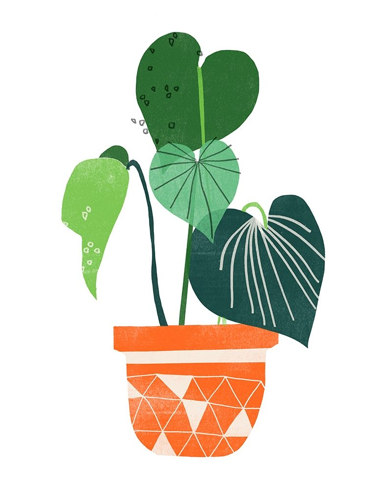 Art Print: Happy Plants II