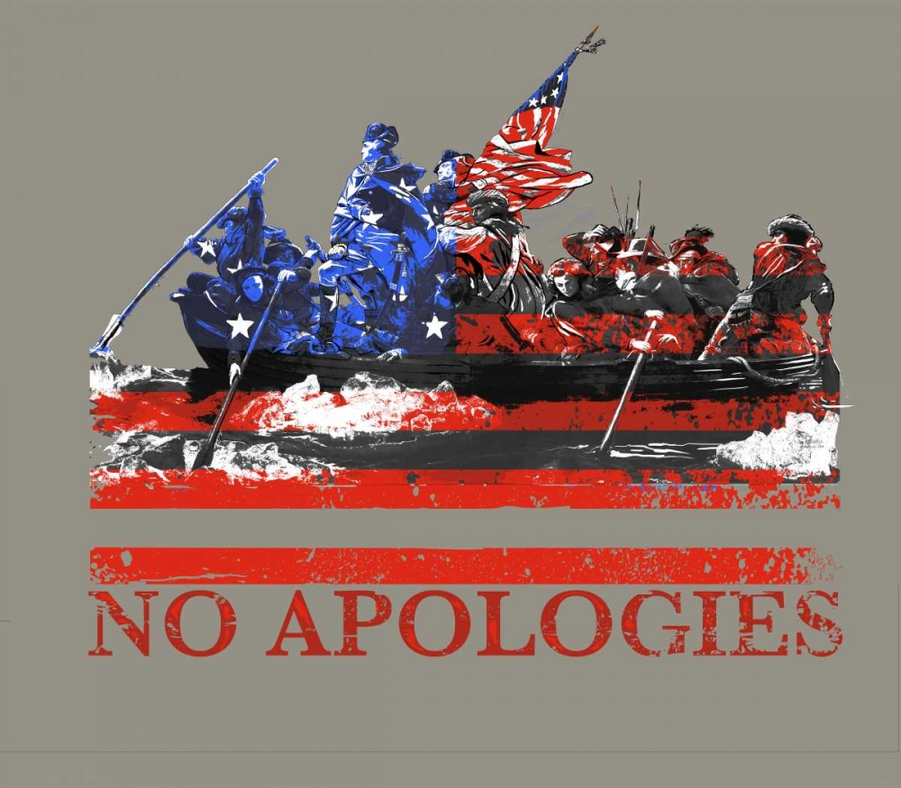 Wall art: No Apologies, by Baldwin, Jim