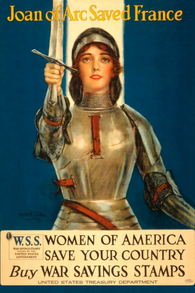 Wall art: Women of America Save Your Country, by Coffin