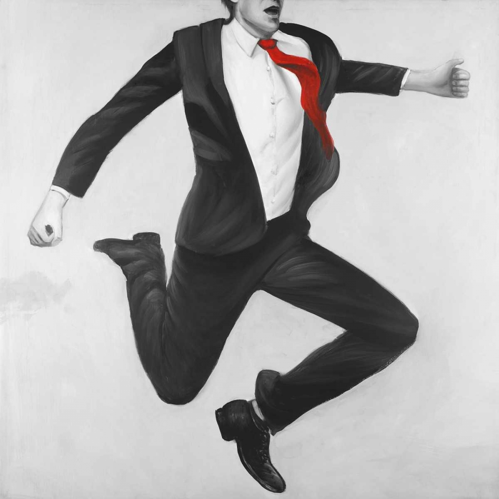 Art Print: Happy Classic Man