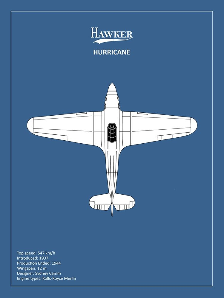 Art Print: BP Hawker Hurricane