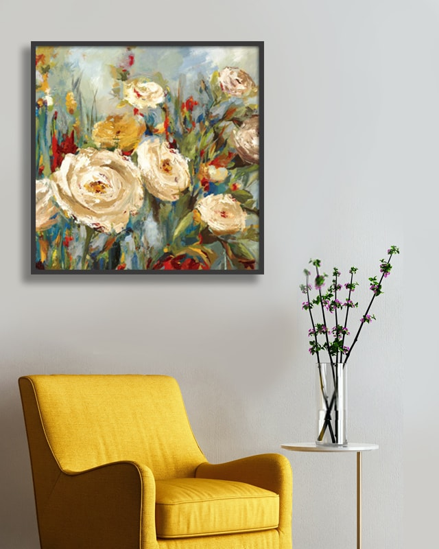 Art Prints of Flower Paintings