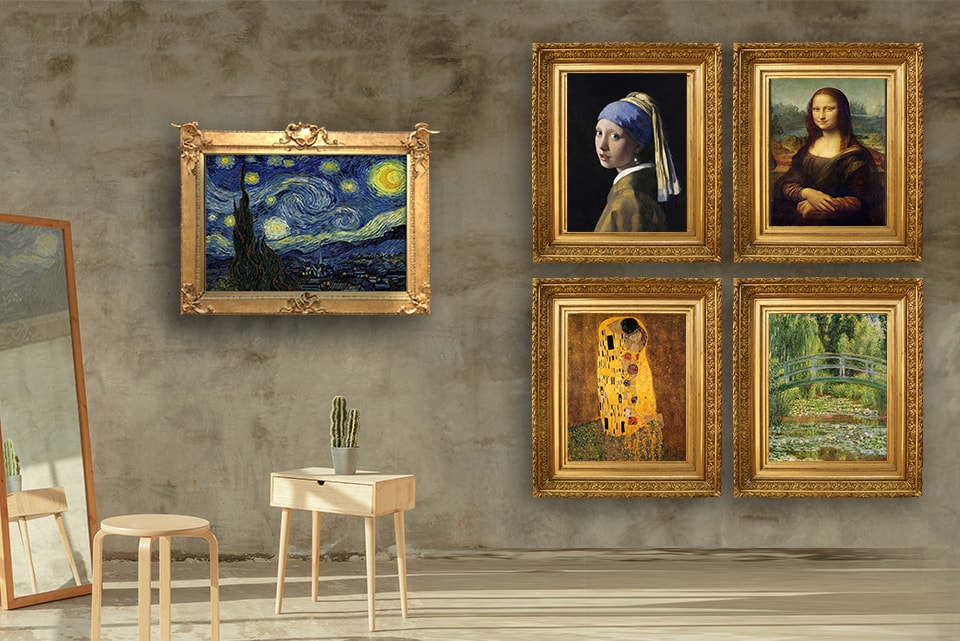 Art prints of Famous Paintings